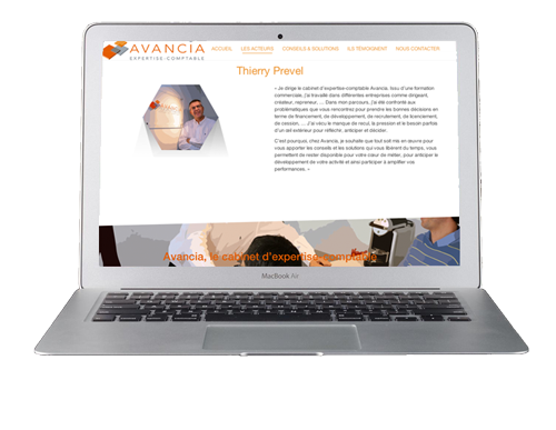 site internet avancia