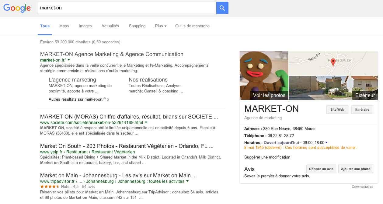 Que pasa chez Google ?