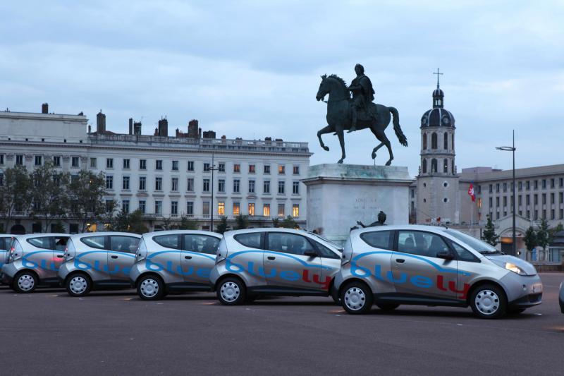 Blue Ly : Où en est-on sur le marché de l'auto partage ?