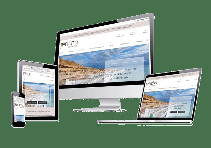 Site internet responsive Jericho